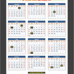 Northern Ireland Bank Holidays Calendar 2015(Click To Enlarge)