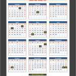 Jamaica Bank Holiday Calendar 2015(Click To Enlarge)
