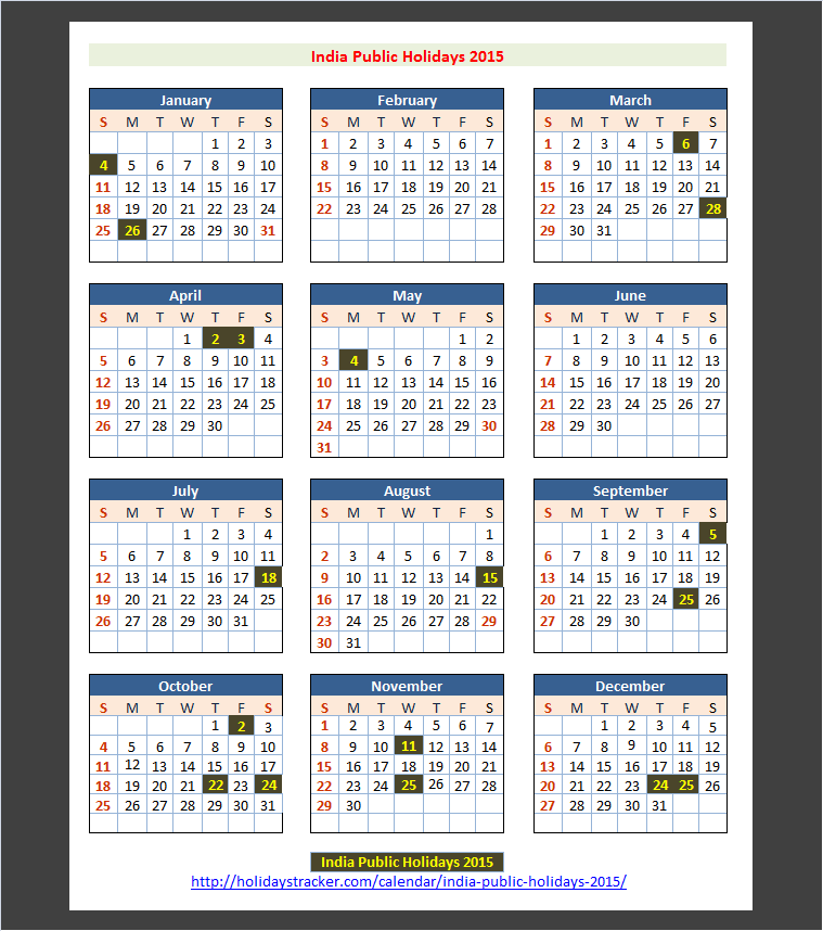 bank holidays india holiday calendar