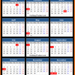 Toronto Stock Exchange Holidays Calendar 2016