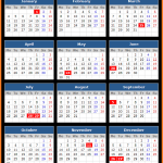 Bermuda Stock Exchange (BSX) Holidays Calendar 2016