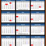 Bank of Greece Holidays Calendar 2016