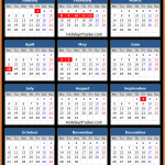 Hanoi Stock Exchange Holidays Calendar 2016