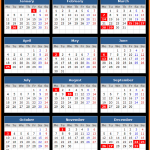 Reserve Bank of Australia Holidays Calendar 2016