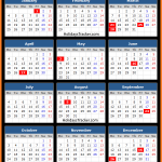South Africa Public Holidays Calendar 2016