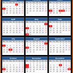 Colombia Stock Exchange Holidays Calendar 2016