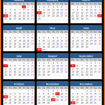 Central Pacific Bank US Holidays Calendar 2016