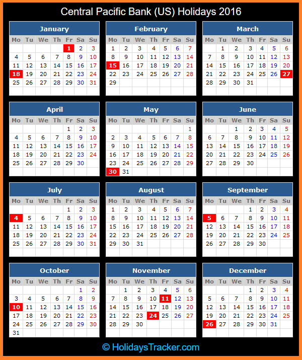 2016 Calendar With Holidays Zimbabwe | Calendar Template 2016