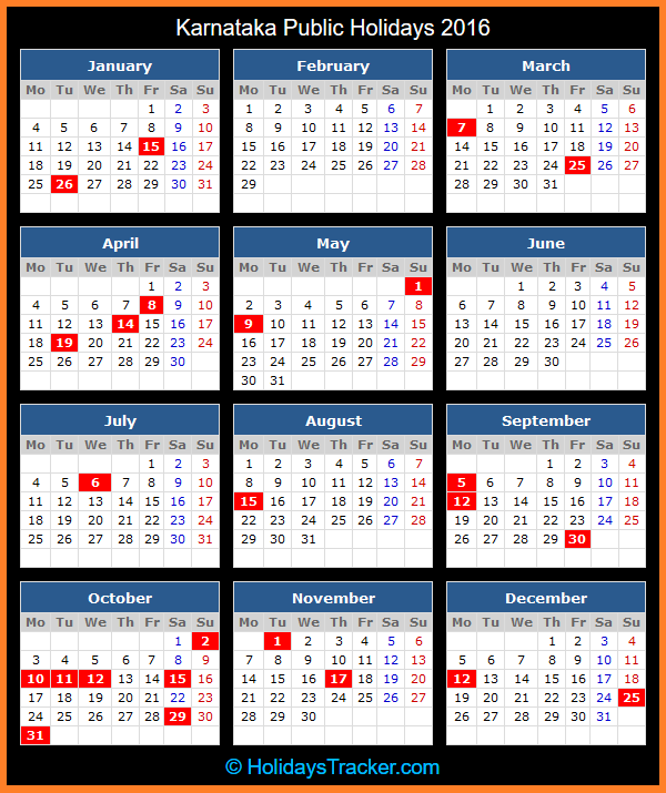 2016 Holidays In Malaysia | Calendar Template 2016