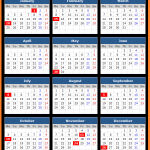 PNC Bank US Holidays Calendar 2016