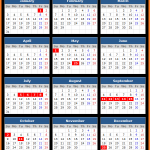 Aman Stock Exchange Holidays Calendar 2016