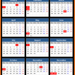 Bank of Canada Holidays Calendar 2016