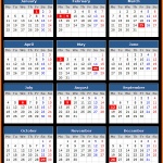 Bank of Singapore Bank Holidays Calendar 2016