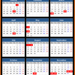 Barbados Stock Exchange Holidays Calendar 2016