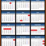 Central Bank of Jordan Holidays Calendar 2016