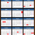 Czech National Bank (CNB) Holidays Calendar 2016