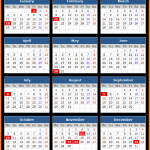First Green Bank (US) Holidays Calendar 2016