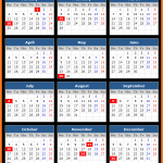 Union Bank (US) Holidays Calendar 2016