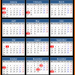 M and T Bank (US) Holidays Calendar 2017