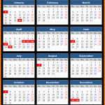 New South Wales Public Holidays Calendar 2017