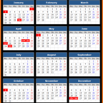 Queensland Public Holidays Calendar 2017
