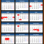 Bank of Israel Bank Holidays Calendar 2017