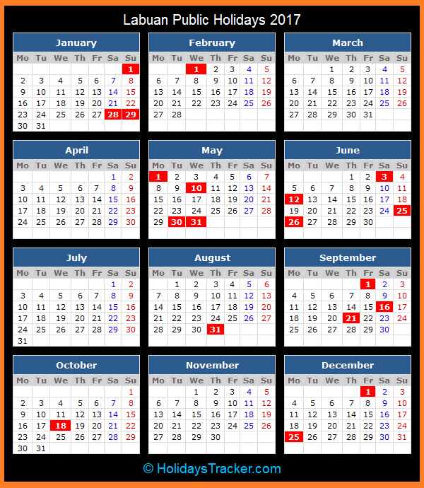 ... Holidays National And Public Holidays In Malaysia | Download Gambar