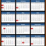 BBT Bank Holidays Calendar 2017