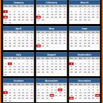 Community Trust Bank Holidays Calendar 2017