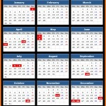 Czech National Bank Holidays Calendar 2017