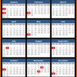 Bank First National Public Holidays Calendar 2017