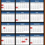 City National Bank (CNB) Holidays Calendar 2017