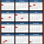 Lusaka Stock Exchange (Luse) Holidays Calendar 2017
