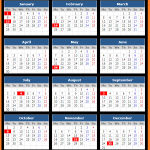 Puget Sound Bank (US) Holidays Calendar 2018