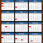 Silicon Valley Bank (US) Holidays Calendar 2018