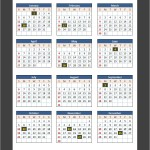 US Bank Holidays 2014 Calendar