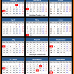 Federal Reserve Bank Holidays Calendar 2016
