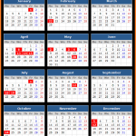 Bank of Thailand Holidays Calendar 2016