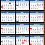 Silicon Valley Bank (US) Holidays Calendar 2016