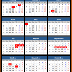 Central Bank of Iraq Holidays Calendar 2016