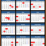 Sri Lanka Bank Association Holidays Calendar 2016
