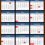 Turks and Caicos Islands Public Holidays Calendar 2016
