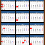 Federal Reserve Bank Holidays Calendar 2017