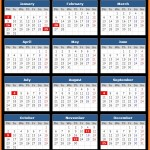UMB Bank Holidays Calendar 2017
