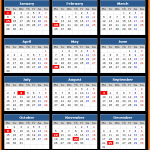 Federal Reserve Bank (US) Holidays Calendar 2018