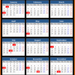 Zions Bank (US) Holiday Calendar 2019