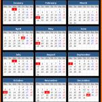 British Columbia Public Holidays Calendar 2020