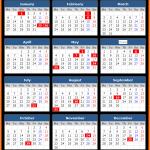 Kuala Lumpur (Malaysia) Public Holidays Calendar 2020