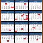Labuan (Malaysia) Public Holidays Calendar 2020