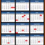 Malaysia Public Holidays Calendar 2020